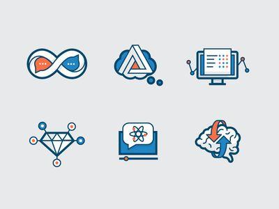 Ed-tech icons