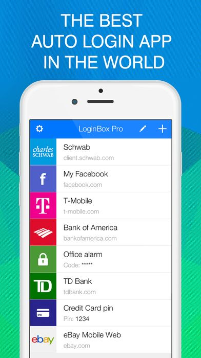 LoginBox Pro on App Store:   This is the premium version of LoginBox with no limits on websites and no ads. We encourage you to try the free version first. You are guaranteed to ...  Developer: MyGo Software  Download at http://ift.tt/1Ksf4L1