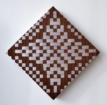 Annabelle Buick Kura Gallery Maori Art Design Aotearoa New Zealand Mixed Media Weaving Whetu