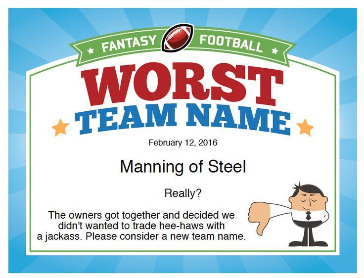 Best 25+ Fantasy football league names ideas on Pinterest | Good ...