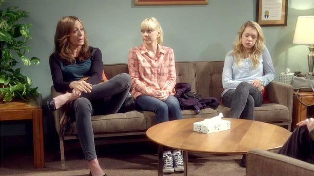 Watch Online Mom: Free Therapy and a Dead Lady's Yard Sale (S02E08) Watch full episode on my blog.