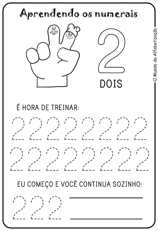 Exercícios para Contar com Os Dedos da Mão                              …