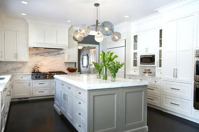 Image Result For Small White Kitchen Cabinets With Dark Floors
