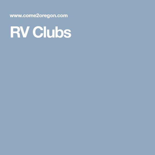 RV Clubs