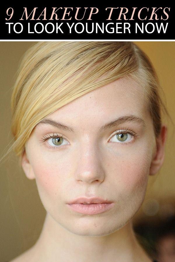Makeup Tricks to Help You Look Younger | Makeup tricks ... - photo#17