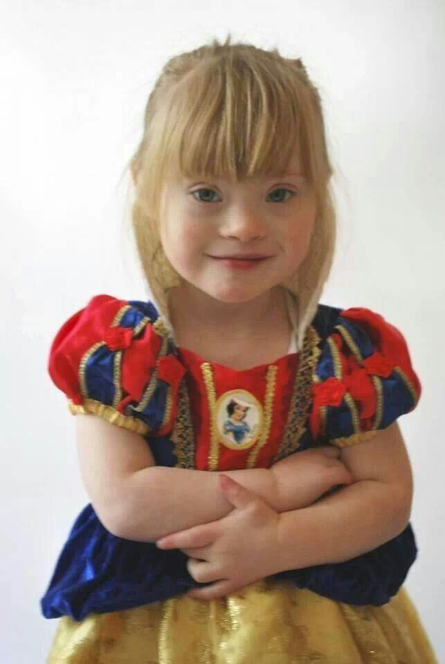 Grace makes a beautiful princess! ♥ Down syndrome awareness