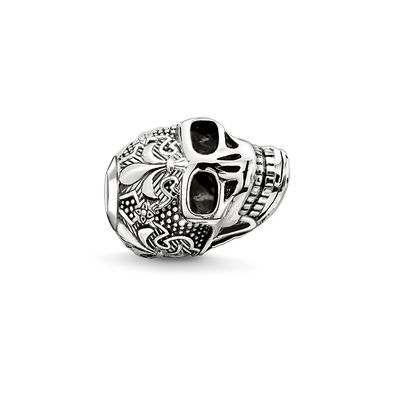 THOMAS SABO bead from the Sterling Silver Collection. - Strength - Carpe diem - Transience Adorned with the fleur-de-lis, the symbol of the Bourbons, this skull bead presents itself as an item of jewellery full of power and strength. [Artikeltabelle]Category:bead Material:925 sterling silver, blackened Measurements:Size approx. 1,1 cm (0,43 Inch) Itemnumber:K0239-637-12[/Artikeltabelle]