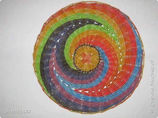Педагогический опыт Плетение Как я делала своё панно Пошагово Бумага газетная фото 1