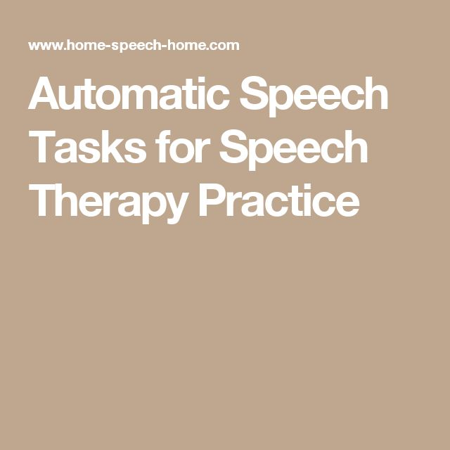activities to help with speech problems But some speech troubles can be a sign of speech disorders or speech sound disorders help for speech that your child's speech problems are.