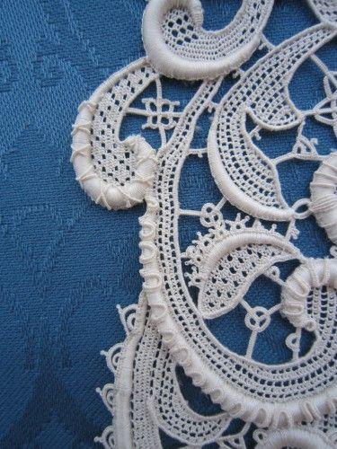 Needlelace. Ombretta Panese  - three beautiful needle lace trees