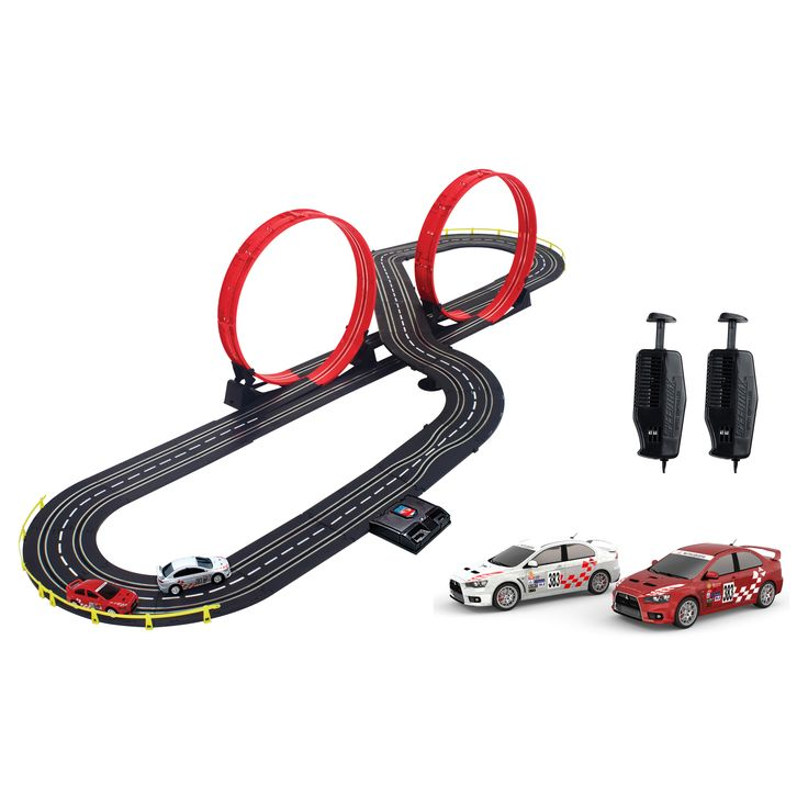 artin 143 scale ultimate express slot car racing set