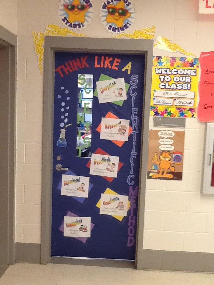 Elementary Science Doors : Th grade science classroom decorating ideas