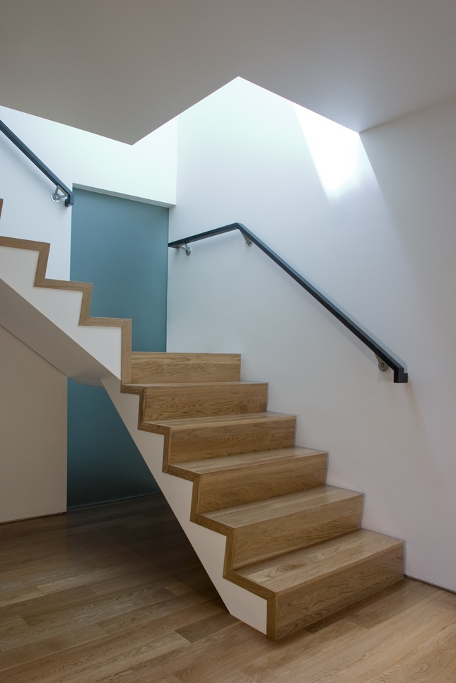 stair and rail idea from Dwell Archives
