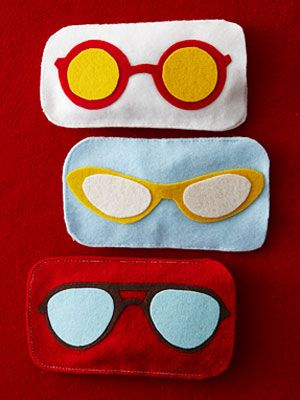 Felt Eyeglass Case