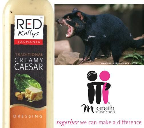 A few loyal customers have asked us why Red Kellys Tasmania dressings no longer have the Heart Foundation tick. We haven't changed our recipes or processes so should still meet the criteria for Heart Foundation tick - we simply decided the annual certification fee was better spend elsewhere like supporting the Devils in Danger Foundation and the McGarth Foundation