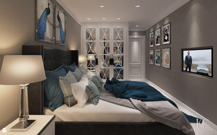 Wystrój wnętrz - Sypialnia - pomysły na aranżacje. Projekty, które stanowią prawdziwe inspiracje dla każdego, dla kogo liczy się dobry design, oryginalny styl i nieprzeciętne rozwiązania w nowoczesnym projektowaniu i dekorowaniu wnętrz. Obejrzyj zdjęcia!