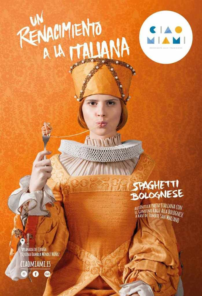 """An Italian Renaissance"" | Agence : Utopicum, Alicante, Espagne, pour la marque Ciao Miami (février 2015)"