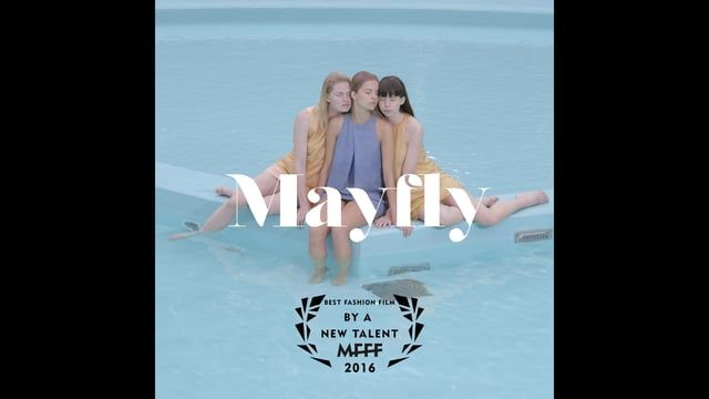 Mayfly is a short fashion film for the graduation collection of Lies Scheps Won BEST NEW TALENT at the MADRID FASHION FILM FESTIVAL 2016