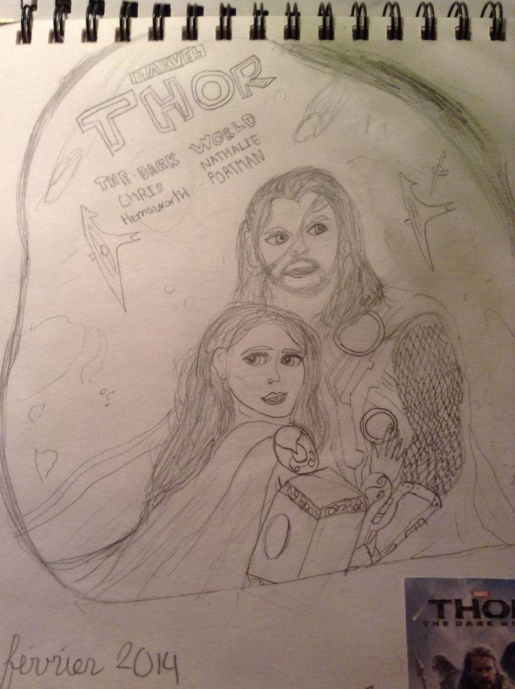 Thor dessin