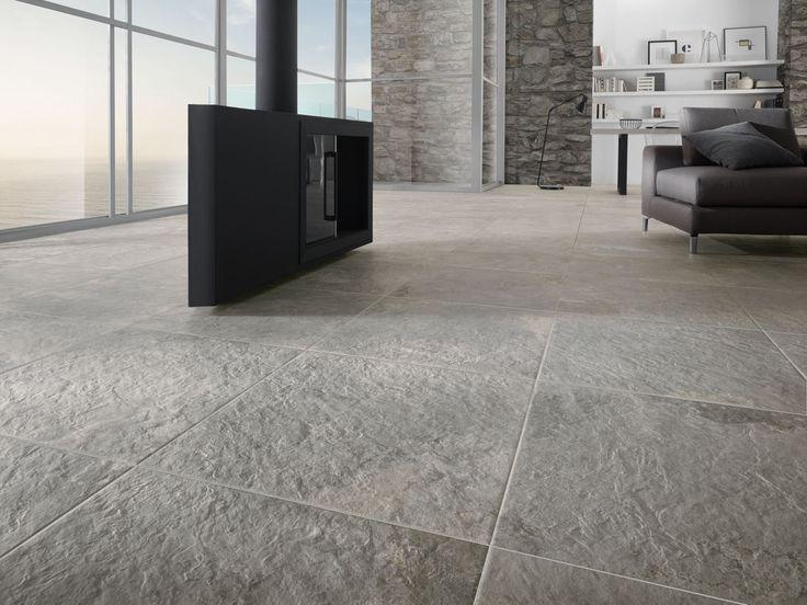 La Fabbrica Ceramiche - NUSLATE Collection - www.lafabbrica.it - #stone #grey #silver