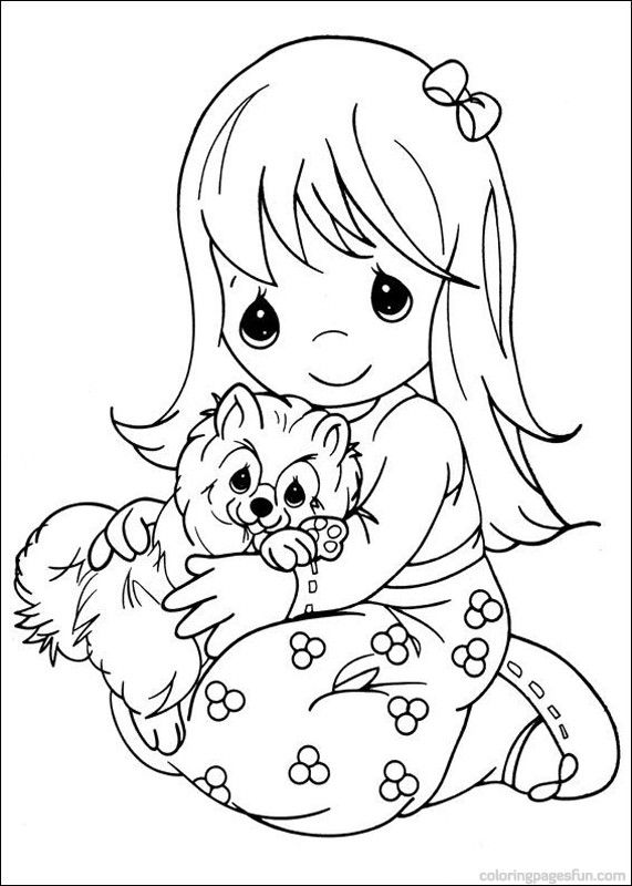 precious moments coloring pages 14