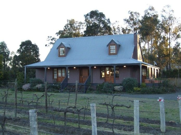 New england country homes australia montrose design for Country cottage homes designs australia