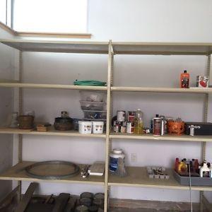 Storage shelving for Sale - Solid/Metal/Garage/Bsmt