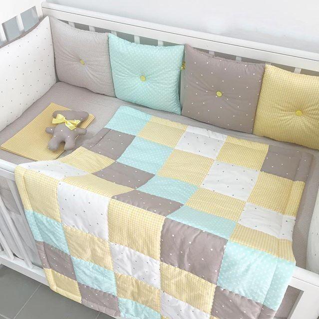 Бортики в детскую кроватку от 2200 руб. Ручная работа.
