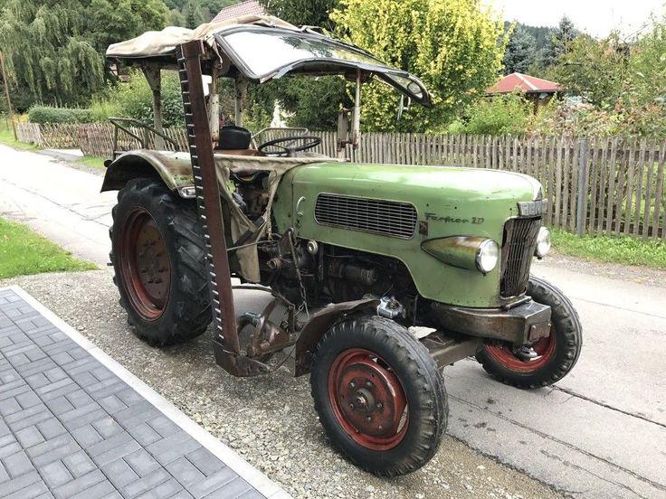 Verkaufe Traktor Fendt Farmer 2 Baujahr 1964 mit 30Ps, der Traktor ist einsatzbereit und hat noch...,Traktor Fendt Farmer 2 Baujahr 1964 mit Mähwerk in Thüringen - Viernau
