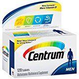 Centrum Men Multivitamin/Multimineral Supplement (120-Count Tablets)