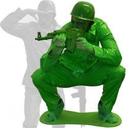 Comprar Disfraz Soldadito de Juguete Verde Morphsuit Adulto.  Ideal para Carnaval, San Patrick, Despedidas, o para cualquier otro evento divertido.