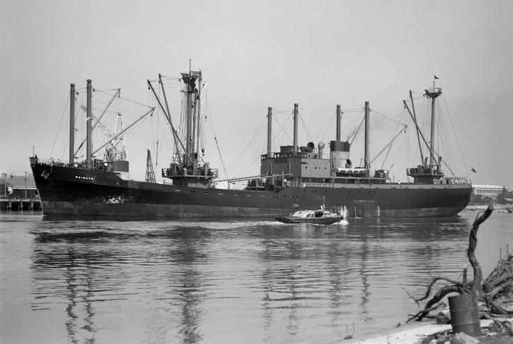 WAIMATE built for New Zealand's Union Steamship Company and sailed for them 1951- 1972. She was finally broken up in Junk Bay, Hong Kong in 1980 as Skyluck after arriving and then grounding in Hong Kong (her cable was cut) with some 2500 Vietnamese refugees aboard.