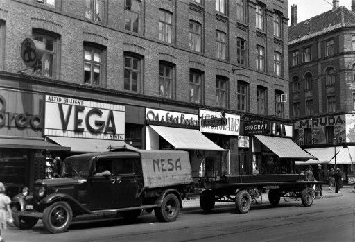 Istedgade 6. juli 1937. KS glasplade nr. 944