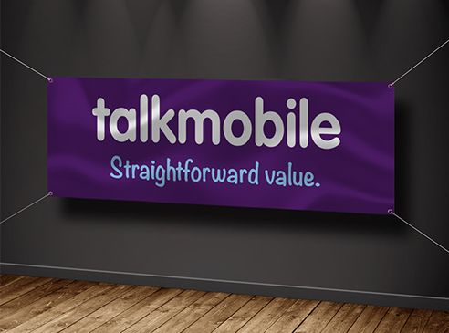 PVC Banners for Talkmobile