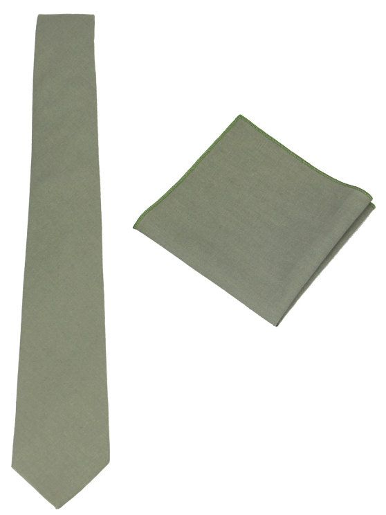 Sage Green Linen Tie.Wedding Necktie.Mens Skinny by LuffDo on Etsy