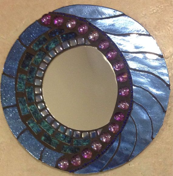 Stained Glass Mosaic Wall Hanging by SpoiledRockinMosaics on Etsy, $48.00