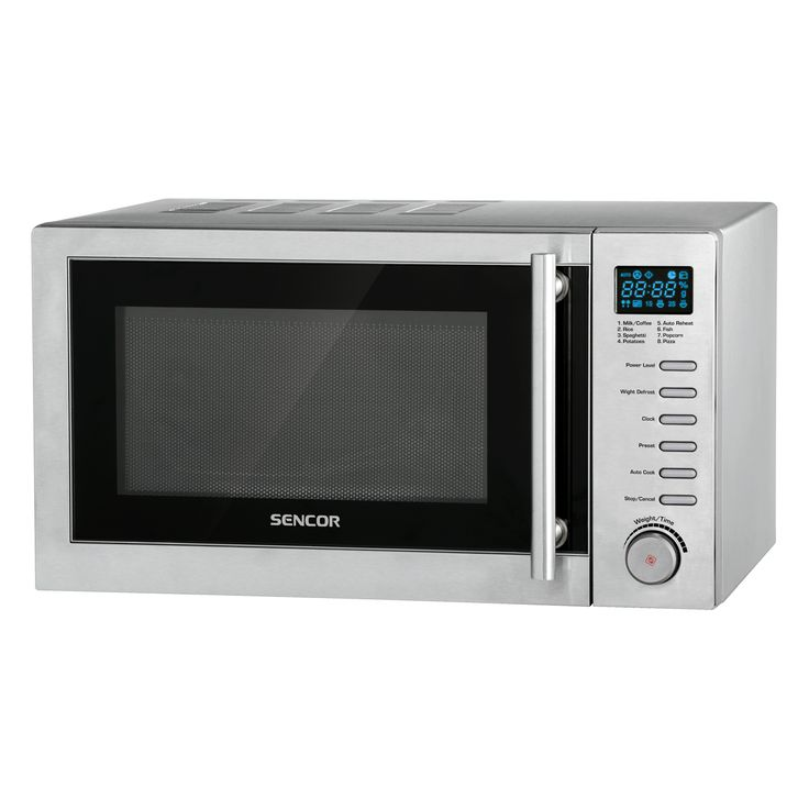 Microwave Oven SMW 6002DS - Digital controls - Quick start function - Child safety lock
