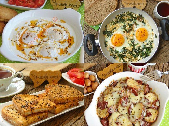 Sahur Sofraları İçin Yumurtalı Kahvaltılık Tarifler Resimli Tarifi - Yemek Tarifleri