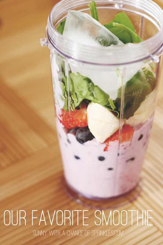 A Smoothie For Your Picky-Eater - Sunny with a Chance of Sprinkles