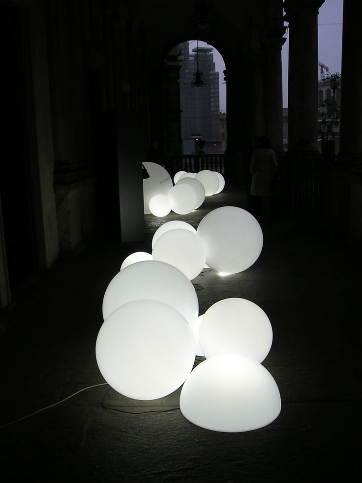WHITE PROJECT. Аренда дизайнерской мебели. Аренда мебели с подсветкой. > GLOBO 50