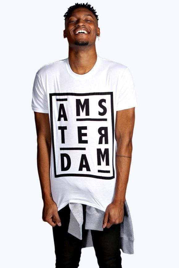 The power of t-shirt is here! Ams-ter-dam (now you name it) takes poppin' paisley prints and sporty slogans to keep you on-trend at all times.