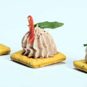 Chicken Liver Pate with Mango Jelly