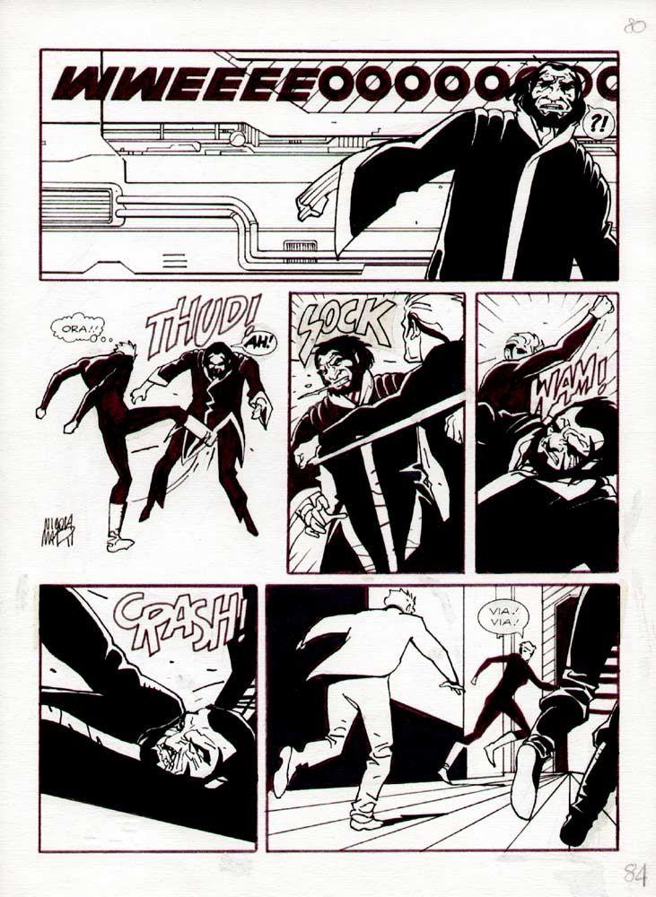 NATHAN NEVER 7 page 84 - Mari Comic Art