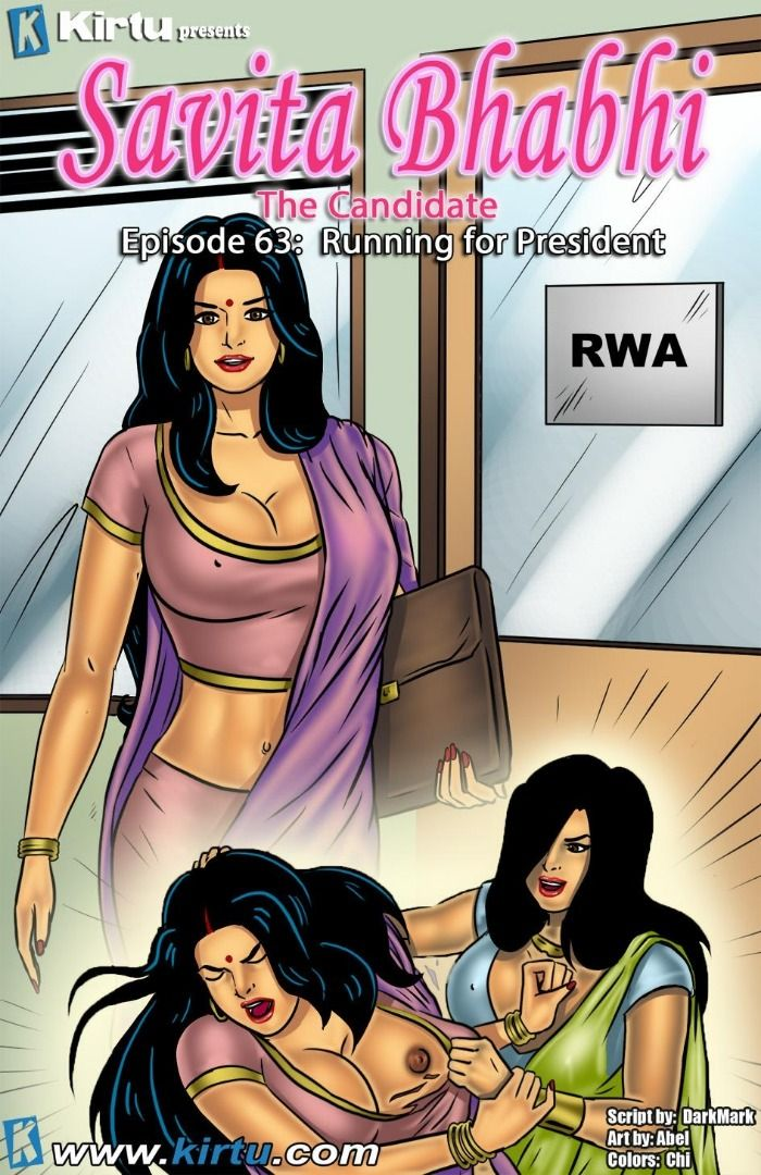 Kirtu Savita Bhabhi Episode 63-64 The Candidate  18 -5815