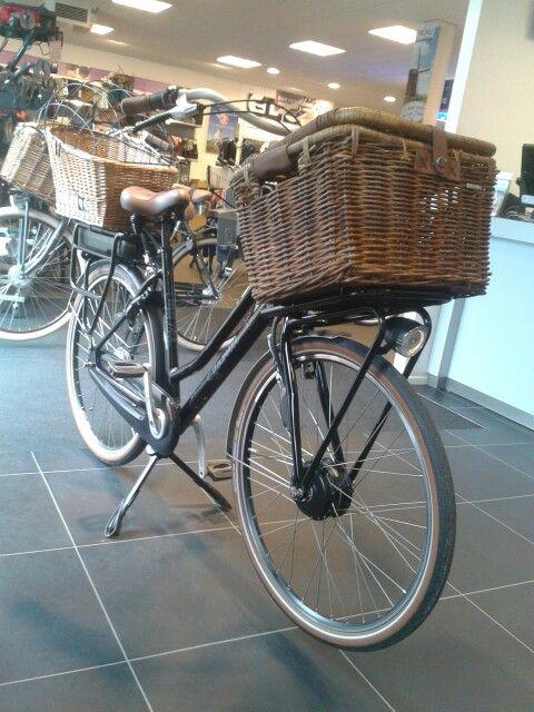 Bij de fietsen maker.