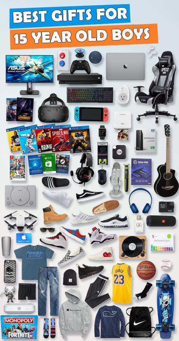 See Over 650 Gifts For 15 Year Old Boys Birthdays And Christmas Tons Of Ideas