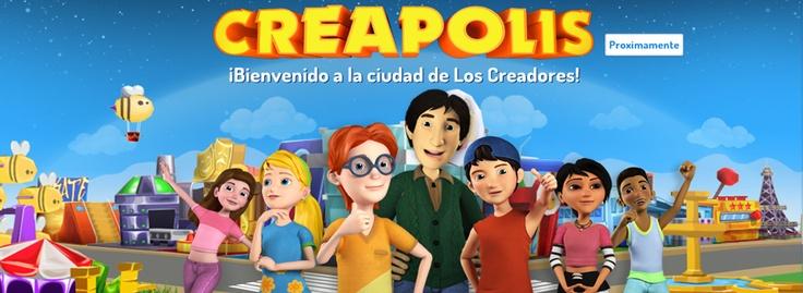 Bienvenido a Creápolis la ciudad de los Creadores. En ella podrás construir, imaginar, vivir grandes aventuras en este nuevo juego multijugador en línea