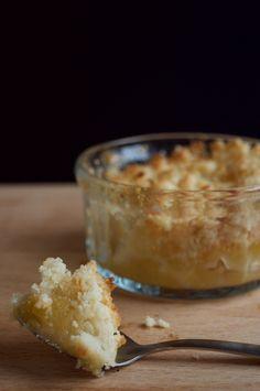 Recette : Crumble aux pommes sans gluten et sans lait !