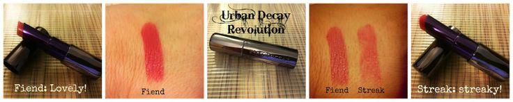 Urban Decay Revolution Lipstick in Fiend