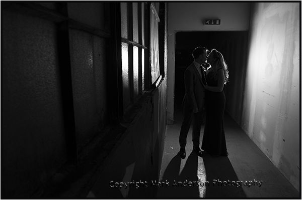 Another from Ainsley & Craigs wedding ay #SWG3, #Glasgow. I took this by accident when one of my lights never flashed. I love how It turned out. #wedding #photography #unique #warehouse #blackandwhite #couple #kiss #monochrome